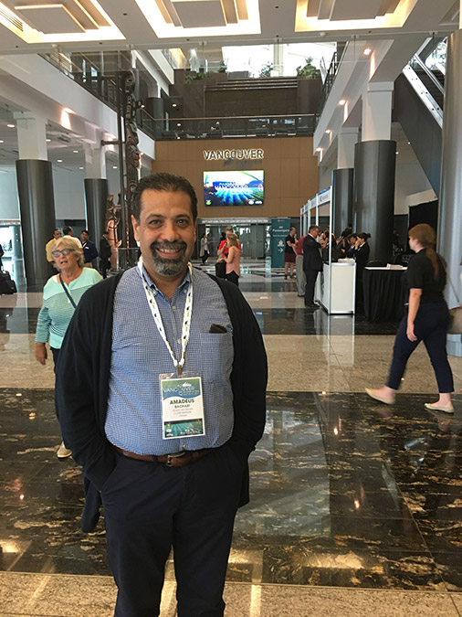 amadeus bachari in pulses 2017 vancouver convention centre