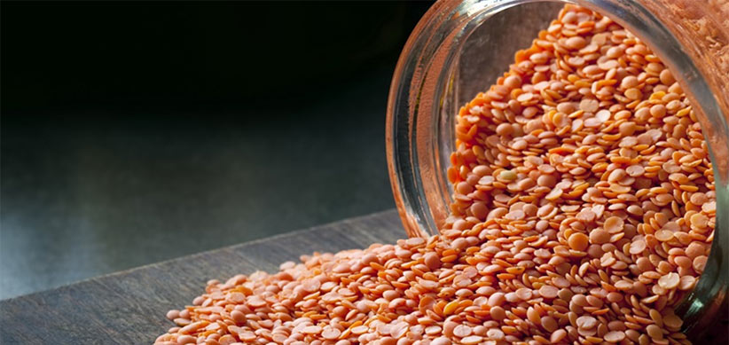 cooking red lentils