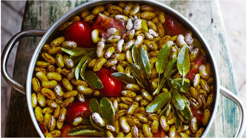 Cranberry Beans Meal