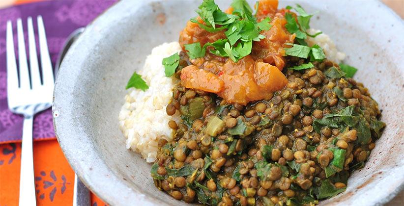 lentils meals diet