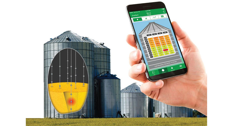 Temperature Of The Grain Storage