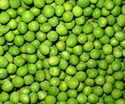 whole green peas product